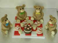 Teddy Bears Picnic Cake Toppers